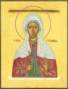 Icon of St. Stephanie – CS1369