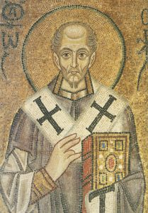 Icon of St. John Chrysostom (Detail) – CS1382