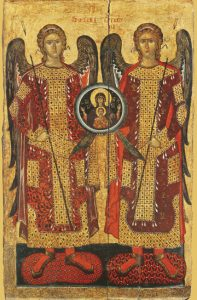 Icon of the Synaxis of the Archangels – CS1470