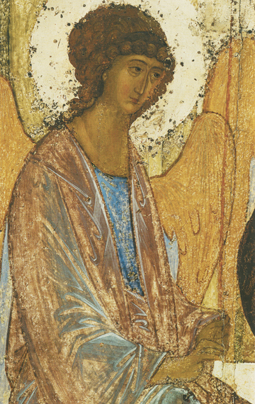 Icon of the Angel of Holy Trinity (Detail of F24) (Rublev) – CS1489
