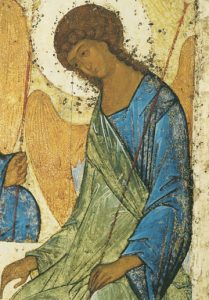 Icon of the Angel of Holy Trinity (Detail of F24) (Rublev) – CS1490