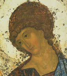Icon of the Angel of Holy Trinity (Detail of F24) (Rublev) – CS1491
