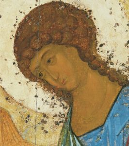 Icon of the Angel of Holy Trinity (Detail of F24) (Rublev) – CS1493