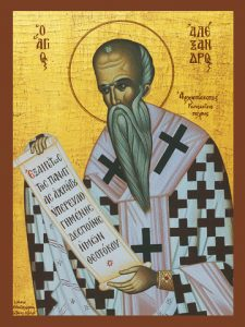 Icon of St. Alexander, Patriarch of Constantinople – CS704