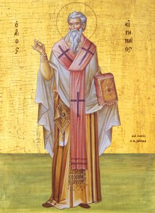 Icon of St. Irenaios, Bishop of Lyons – CS715