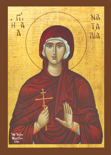 Icon of St. Natalia – CS722