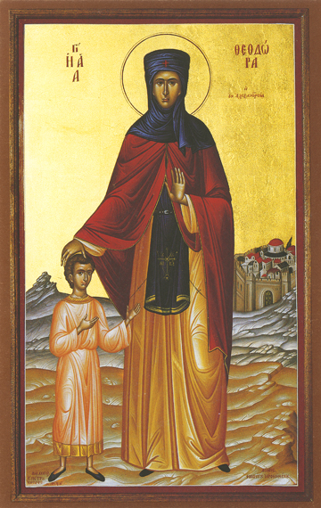 Icon of St. Theodora of Alexandria – CS732