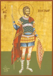 Icon of St. Victor, Great Martyr – CS735