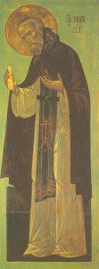 Icon of St. Nilus of Sora – CS761