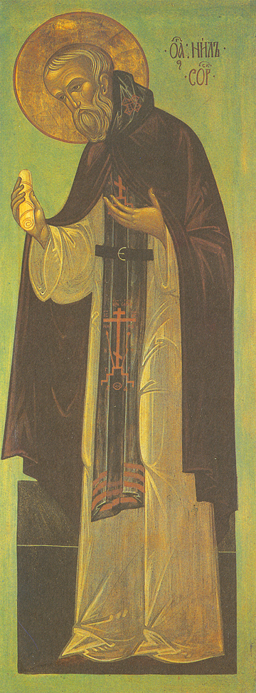 Icon of St. Nilus of Sora – CS761