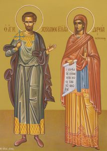 Icon of SS Chrysanthos and Daria – CS792