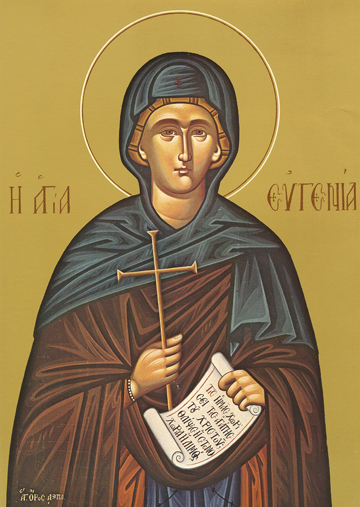 Icon of St. Eugenia – CS799