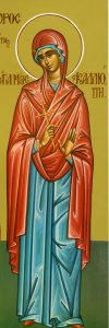 Icon of St. Kalliope – CS812