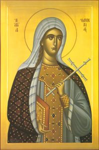 Icon of St. Olympia, the Deaconness – CS819