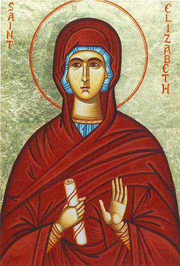 Icon of St. Elizabeth, Mother of St. John the Baptist – CS843