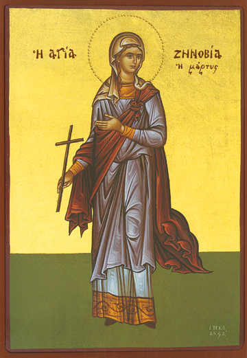 Icon of St. Zenobia – CS846