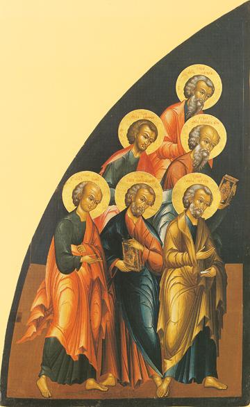 Icon of the Six Apostles (First Set) – CS864