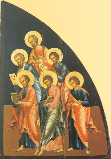 Icon of the Six Apostles (Second Set) – CS865