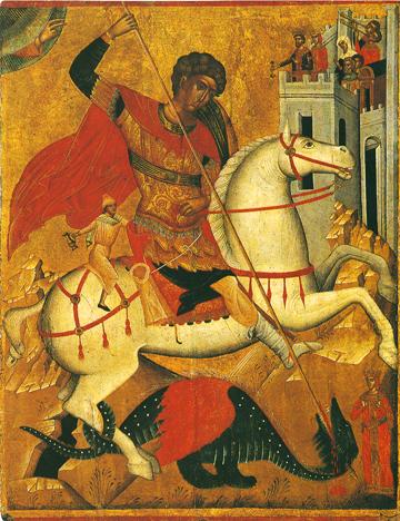 Icon of St. George – CS872
