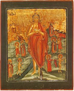 St. Mary of Egypt with Scenes – CS906