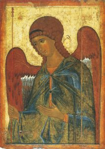 Icon of Gabriel, Archangel – CS911