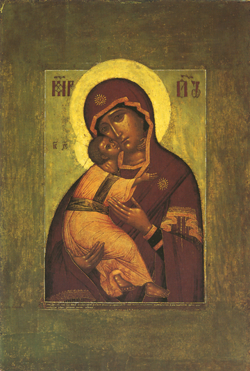 Icon of the Theotokos of Vladimir – CT797