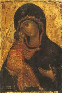 Icon of the Theotokos of Vladimir – CT829