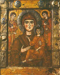 "Icon of the Theotokos ""Hodegetria"" with Angels – CT836"