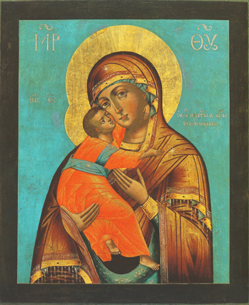 Icon of the Theotokos of Vladimir – CT938