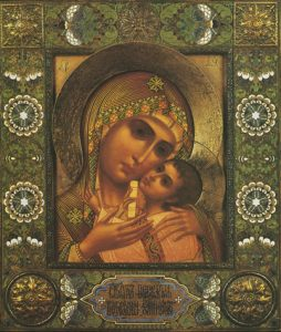 "Icon of the Theotokos ""Tenderness"" – CT965"