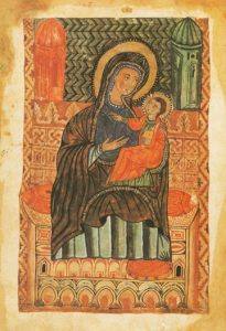 Theotokos and Child – CT972