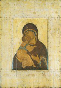 """Theotokos """"Kazanskaya"""" (Rublev) – CT977"""