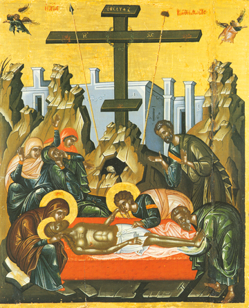 Icon of the Taking Down From the Cross – F100