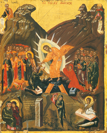 Icon of the Resurrection – F101