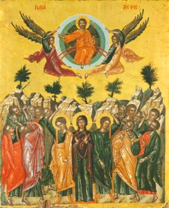 Icon of the Ascension of the Lord – F103