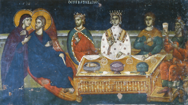Icon of the Wedding at Cana – F113