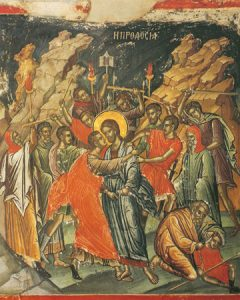 Icon of Judas' Betrayal of Christ – F114