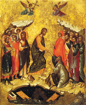 Icon of the Resurrection – F123