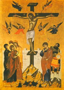 Icon of the Crucifixion – F128