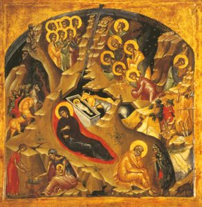 Icon of the Nativity of the Lord – F140