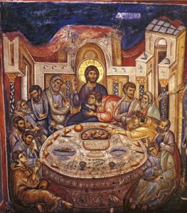 Icon of the Mystical Supper – F146