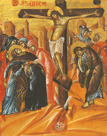 Icon of the Crucifixion – F149
