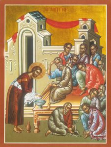 Icon of the Washing the Disciples' Feet – F19