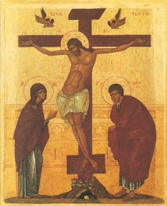 Icon of the Crucifixion – F20