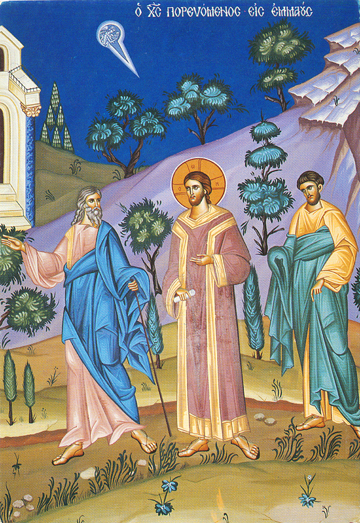 Image result for icon walking emmaus