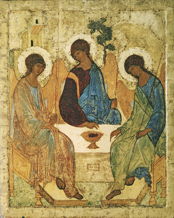 Icon of the Holy Trinity (Rublev) – F24