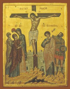 Icon of the Crucifixion – F28