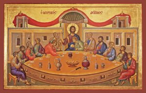 Icon of the Mystical Supper – F30