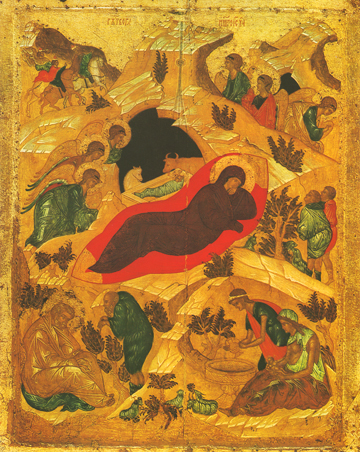 Icon of the Nativity of the Lord (Rublev) – F41