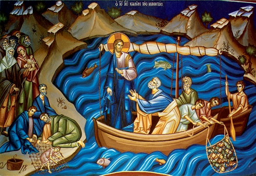 Icon of the Jesus Calling the Disciples – F44